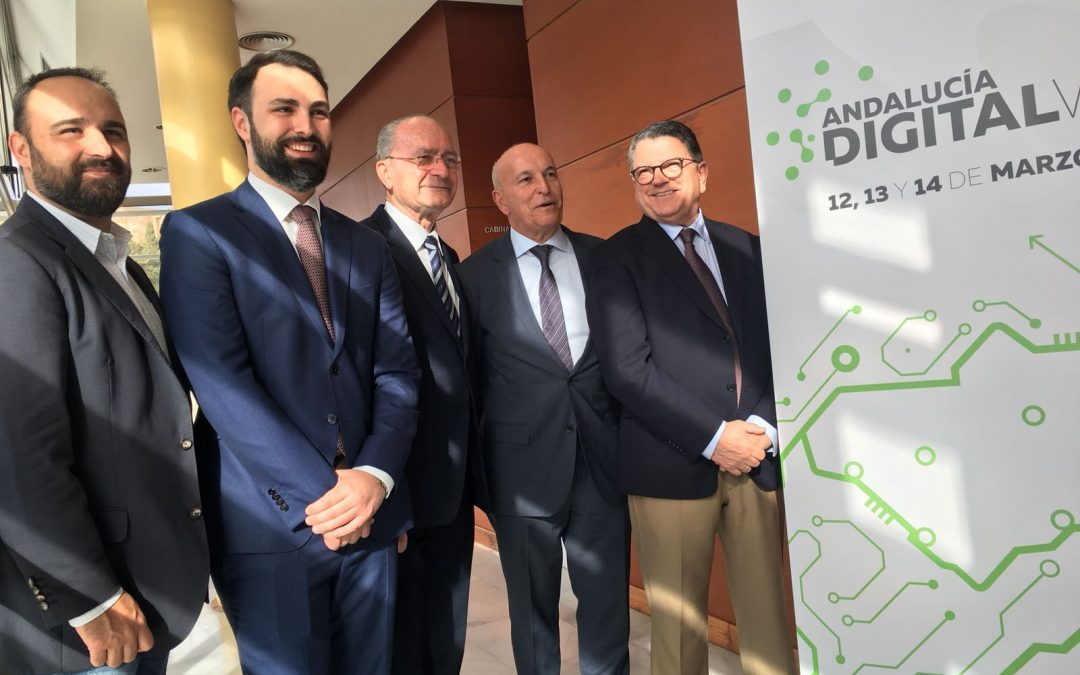 Presentación de Andalucía Digital Week en Málaga